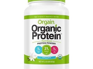 Snag a 2-pound container of Orgain Organic Plant-Based Protein Powder for $16