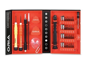 This 38-piece ORIA precision screwdriver kit is 50% off for a limited time