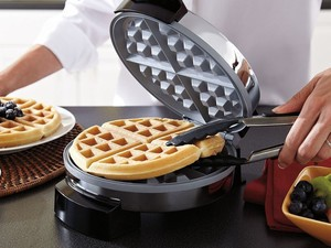 Stop waffling around and get this $15 Oster Belgian Waffle Maker