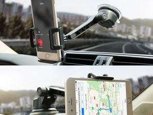 Focus on the road more with Otium's $6 rotating car phone mount