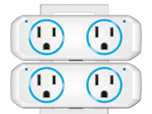 Save on two Dual Outlet Smart Plugs to control devices for less than $12 apiece