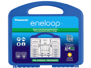 Recharge various batteries with the $31 Panasonic Eneloop Power Pack