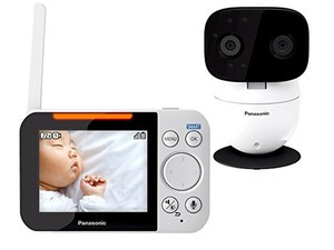 Check up on your sweetie with the $120 Panasonic Video Baby Monitor