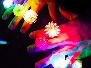 Keep the kids visible and the party going with one-day discounts on glow sticks and LED wearables