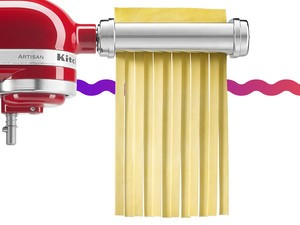 Make your own pasta with the $110 KitchenAid Pasta Roller and Cutter Set