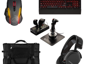 Score big discounts on PC gaming accessories from Corsair, Roccat, Steel Series and more today only