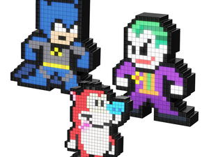 Select 8-bit styled Pixel Pals of characters like Batman and Superman are down to $10 each
