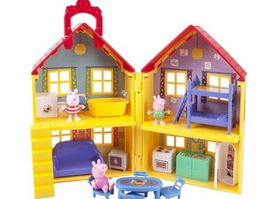 Add Peppa Pig's Deluxe House to your child's toy box for $22