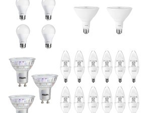 Finally convert your entire home to LED bulbs with Amazon's Philips sale