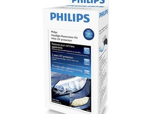 Clean that winter salt off your lenses with this $13 Philips headlight restoration kit