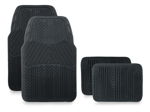 Keep your vehicle tidy with Pilot's $10 All Season 4-piece Rubber Floor Mat Set