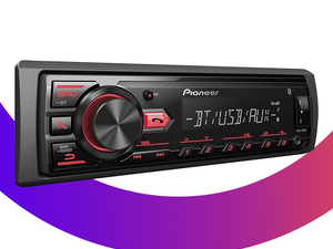 Upgrade your car radio with Pioneer's Bluetooth Digital Media Receiver for $40