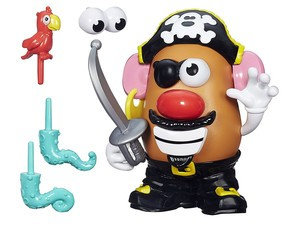 Spend $15 doubloons and set sail with this Pirate Mr. Potato Head
