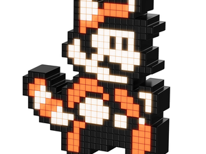 Add the 8-bit Racoon Mario light-up Pixel Pal to your collection for $7