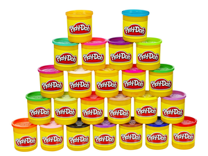 Build colorful sculptures with this 24-pack of Play-Doh for just $12