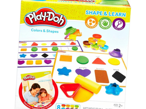 Create your favorite shapes with this Play-Doh Colors & Shapes set for $4