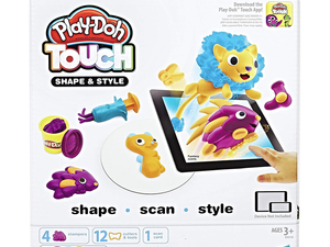 This $6 app-connected Play-Doh set lets kids scan their creations into digital playmates