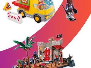 Get Playmobil construction trucks, pirate ships, and more starting at $8
