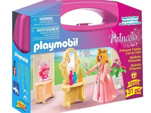 Get ready for the royal ball with this $4 Playmobil Princess Vanity Carry Case