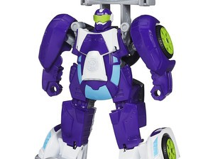 Bring a new Transformer to playtime with this $8 Playskool Rescue Bots Blurr figure
