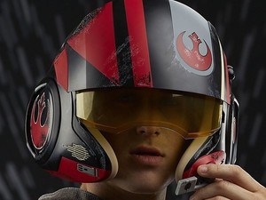 Get your very own Star Wars Poe Dameron X-Wing Pilot Helmet for $42