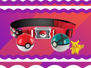 Pokémon fans need this $4 Clip and Carry Poké Ball Belt