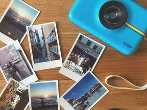Decorate your locker or workspace with this $72 Polaroid Snap Instant Digital Camera