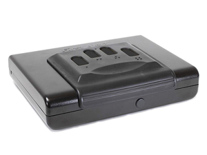 Safeguard your handgun with this discounted First Alert Portable Safe at $33 off