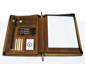 Save $20 on this Aaron Leather Premium business portfolio today