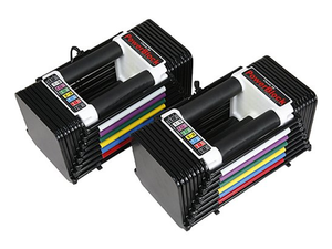 Power through your workouts with the compact $230 PowerBlock Classic 50 Adjustable Dumbbell Set