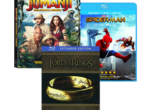 Add to your Blu-ray collection with 20% off over 3000 movies and TV shows via Amazon