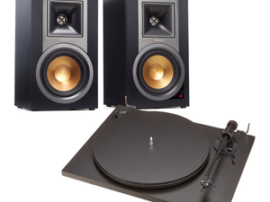Start spinning your favorite albums with this $370 Klipsch and Pro-Ject turntable bundle