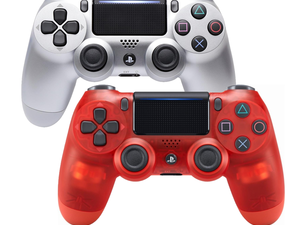 Get your hands on a Silver or Red Crystal Sony DualShock 4 Controller for $40