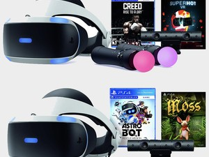 Some of PlayStation VR's newest bundles are down to low prices today