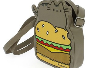Adorn yourself with this adorable Pusheen cross-body bag for $5