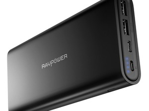 Charge all your gear with RAVPower's £30 USB-C portable power pack