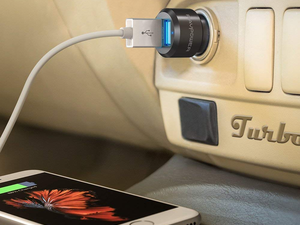 Charge up during road trips with this $11 two-pack of Dual USB Car Chargers