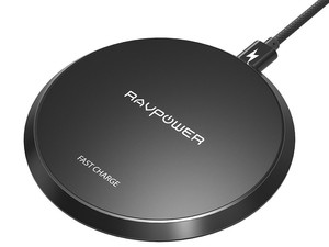 Ditch the cables and charge wirelessly with the £10 RAVPower Qi charging pad