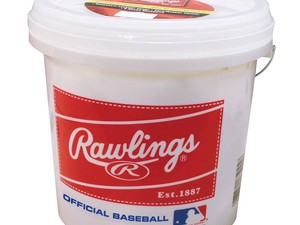 Get an entire bucket of Rawlings baseballs for only $30