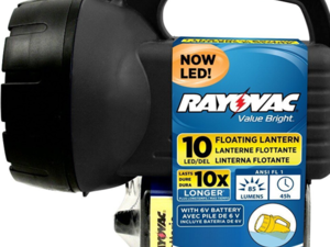 This Rayovac 6V LED Floating Lantern is on sale for only $5