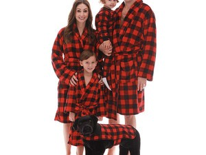 Get new robes for the whole family on sale at Amazon today