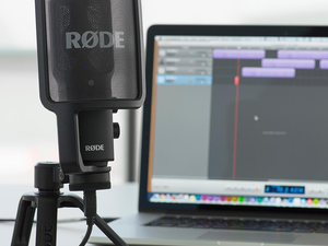 Record high-quality audio via computer or iPad with this $134 Rode USB Condenser Microphone