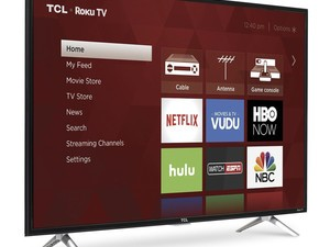 TCL's 43-inch 1080p Roku LED TV is only $256