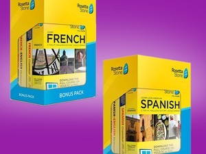 Learn Spanish, French, Italian & more with 2 years of Rosetta Stone for $169
