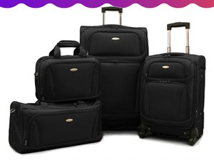 Your luggage will finally match with this $140 Samsonite Premium 4-piece Set