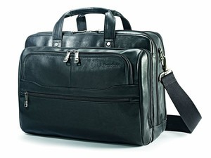 Look the part with this $82 Samsonite Vachetta Leather Business Case