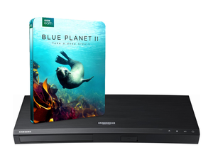 This $100 Samsung 4K Blu-Ray Player comes with Blue Planet II 4K for free