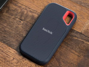 The 250GB SanDisk Extreme portable SSD is water- and dust-resistant and down to its lowest ever price