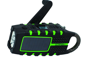 Prep for hurricane season with Eton's $34 Scorpion II portable Emergency Weather Radio + Smartphone Charger