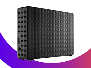 Set this $90 Seagate Expansion 4TB External Hard Drive next to your computer for extra storage